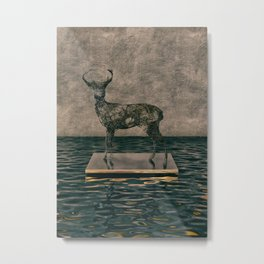 Exhibit 001 Deer Metal Print