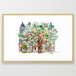 Inner Temple Garden Framed Art Print