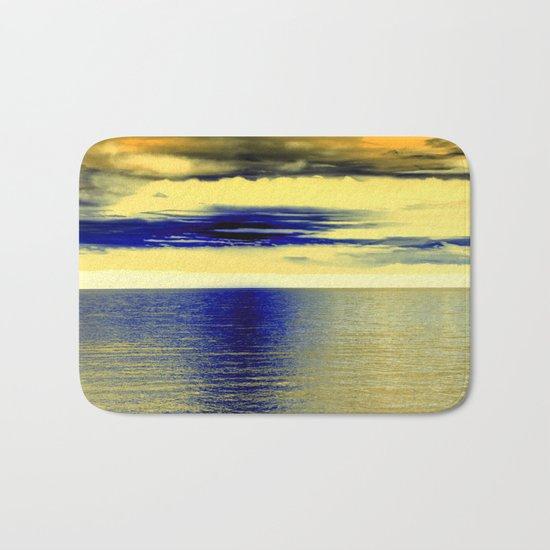 Sunset at Sea 01 Bath Mat