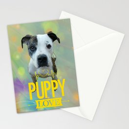 Jess Puppy Love Stationery Cards