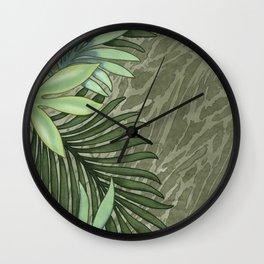 A Run Through the Jungle Wall Clock