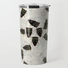 Cicada Pattern Travel Mug