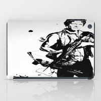 daryl dixon iPad Cases featuring Daryl Dixon by Black And White Store