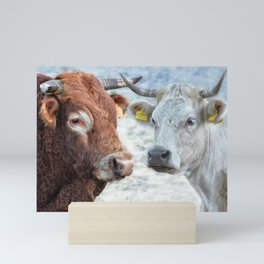 Sardinian He & She Mini Art Print
