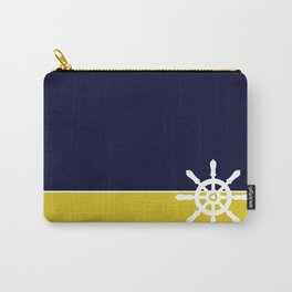 Nautical Wheel Carry-All Pouch