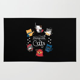 Dungeons And Cats Rug