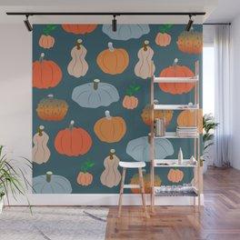 Halloween pumpkin fest Wall Mural