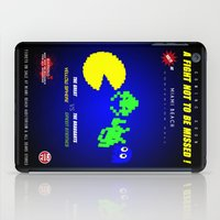 fight iPad Cases featuring Fight ! by mauro mondin