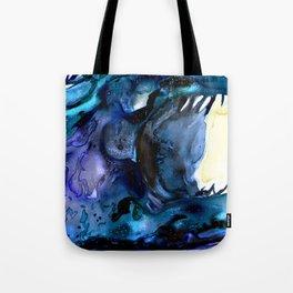 Moon Eater Dragon Tote Bag