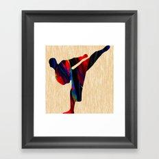 Martial Arts Framed Art Print