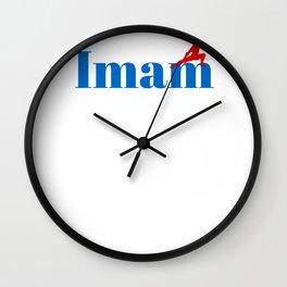Top Imam Wall Clock