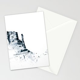 Monument Valley mountainsplash Stationery Cards