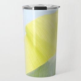 Banana leaf luminous Travel Mug