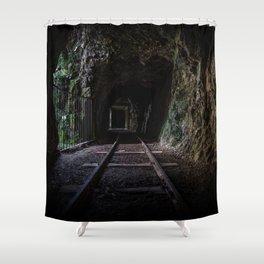 Gold Mine Karanghake Shower Curtain