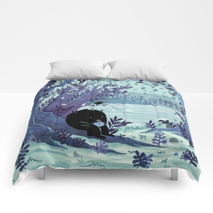 A Quiet Spot of Tea Comforters