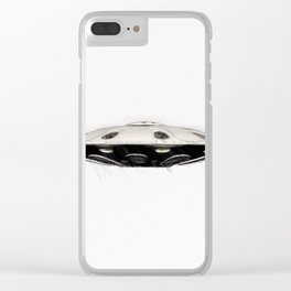 Flying Saucer - UFO Clear iPhone Case