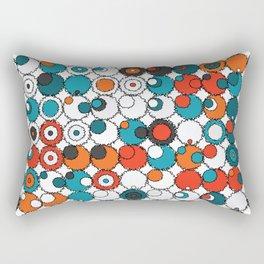 Raw Bubbles Rectangular Pillow