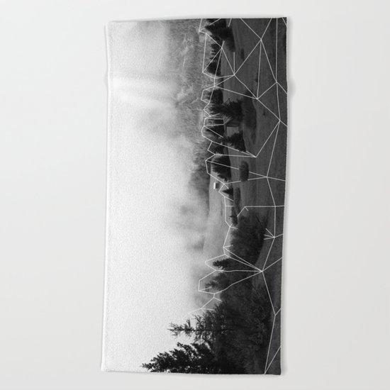 Crystal Hut I Beach Towel
