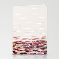river Stationery Cards featuring River by Georgiana Paraschiv