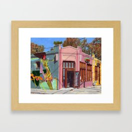 Dry Cleaners, Inman Park Framed Art Print