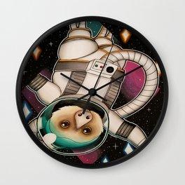 Astrosloth Wall Clock