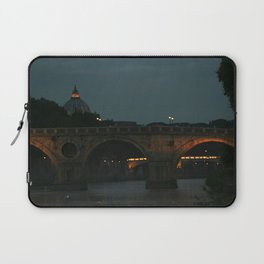 Bridges of Rome in the Evening Laptop Sleeve