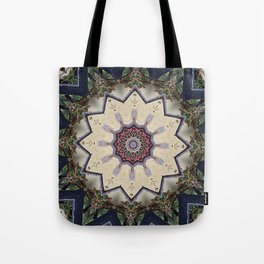 Tribal Wood  Tote Bag