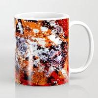 batik Mugs featuring batik by ifcha