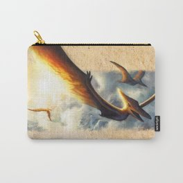 Pterodactyl Coming Back to Life Carry-All Pouch