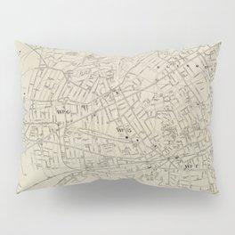 Vintage Map of Lynn MA (1905) Pillow Sham