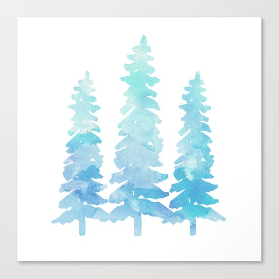 Tahoe Trees  Canvas Print
