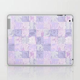 Purple woodcuts Laptop & iPad Skin