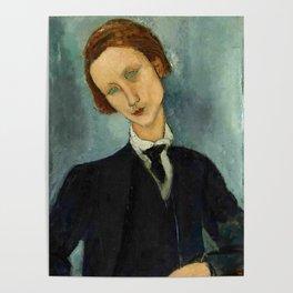 "Amedeo Modigliani ""Monsieur Baranowski"" Poster"