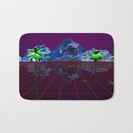 Retro Landscape 01 Bath Mat