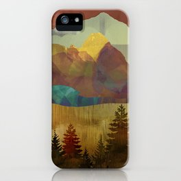 Autumn Sky iPhone Case