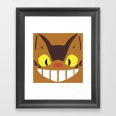 Catbus Framed Art Print