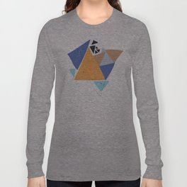 Exploding Triangles//One Long Sleeve T-shirt