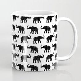 Elephants on Parade Coffee Mug
