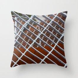 Iron entrance Throw Pillow