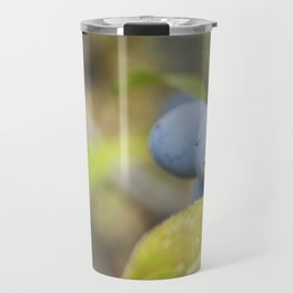 Blue fruits Travel Mug