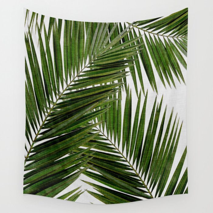 Palm Leaf Iii Wall Tapestry By Paperpixelprints Society6