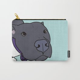 Faith The Resilient Pit Bull Carry-All Pouch