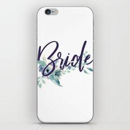 Bride Watercolour iPhone Skin