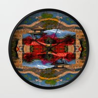 china Wall Clocks featuring China. by Grant Pearce