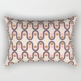 Steve Dots Fashion Rectangular Pillow