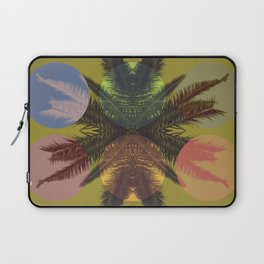 Palm tree and shapes Laptop Sleeve