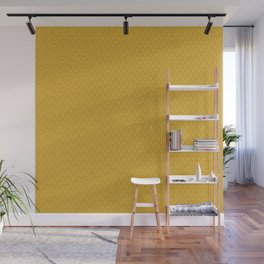 24 Karat Gold Tres Petit Geometric Pattern Wall Mural