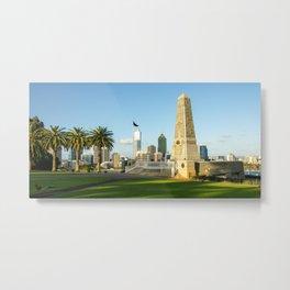 Anzac War Memorial, Kings Park, Perth Metal Print