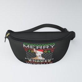 Podenco Greyhound Dog Christmas Gift Idea Fanny Pack