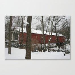 Knecht's Covered Bridge Canvas Print